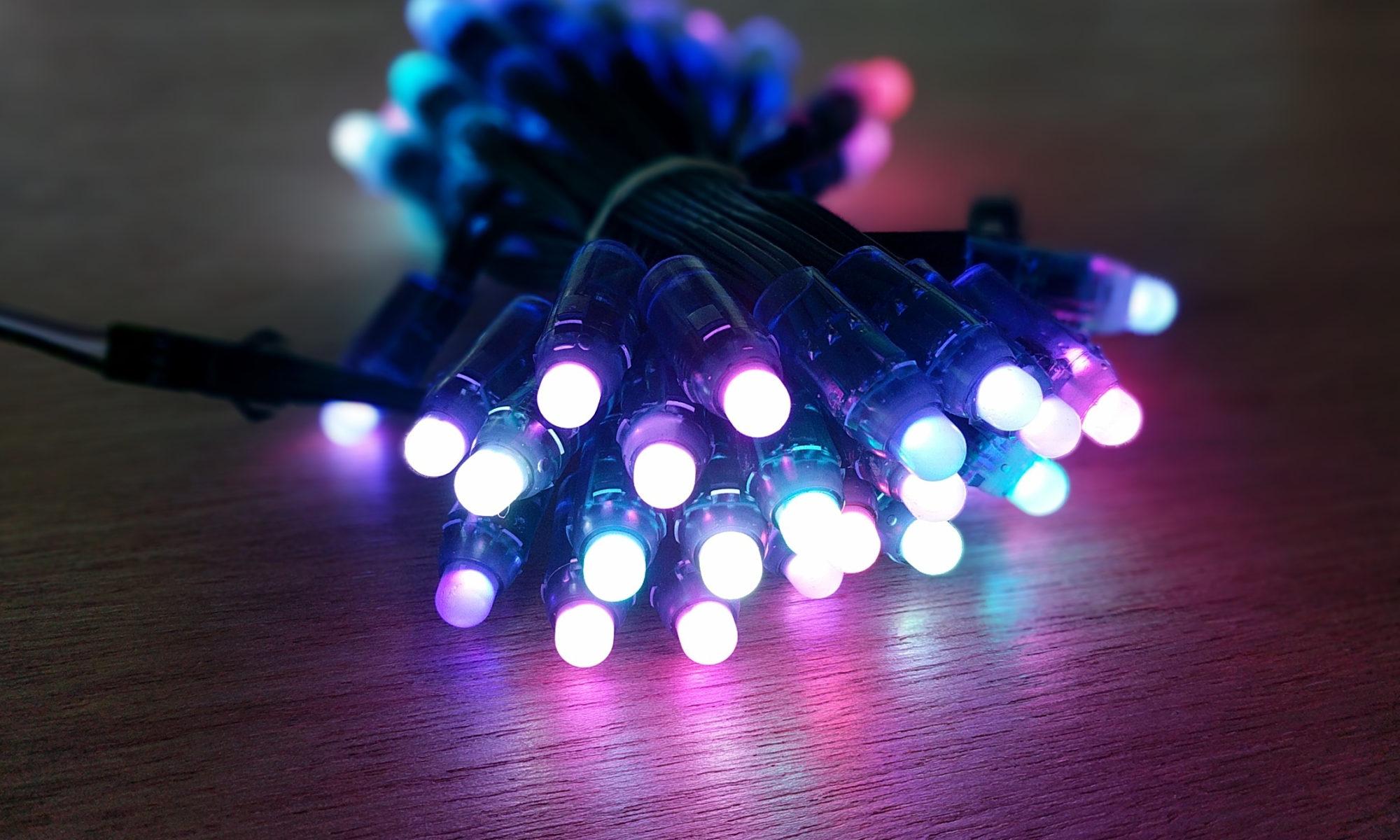 50 RGB LED string